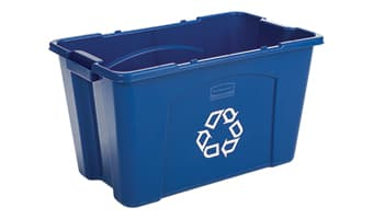 rubbermaid recycle box