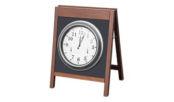 Black Forest Spruce Clock Board
