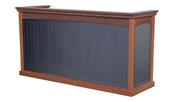 Black Forest Emerald Pedestal Top Valet Podium