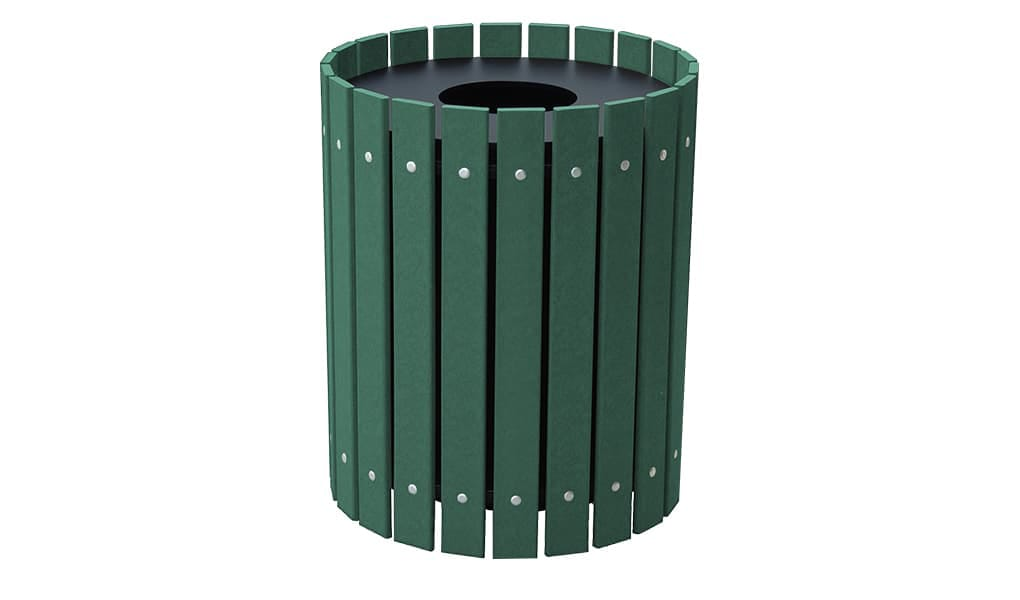 EasyCare 20 Gallon Round Recycling Bin