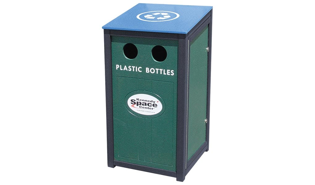 EasyCare 40 Gallon Recycling Bin
