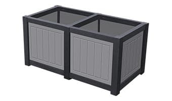 EasyCare Hunter Double Planter Box