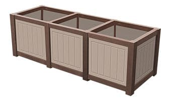 EasyCare Hunter Triple Planter Box