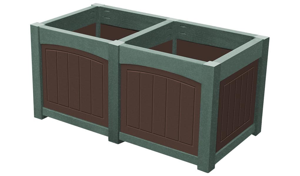 EasyCare Double Emerald Planter