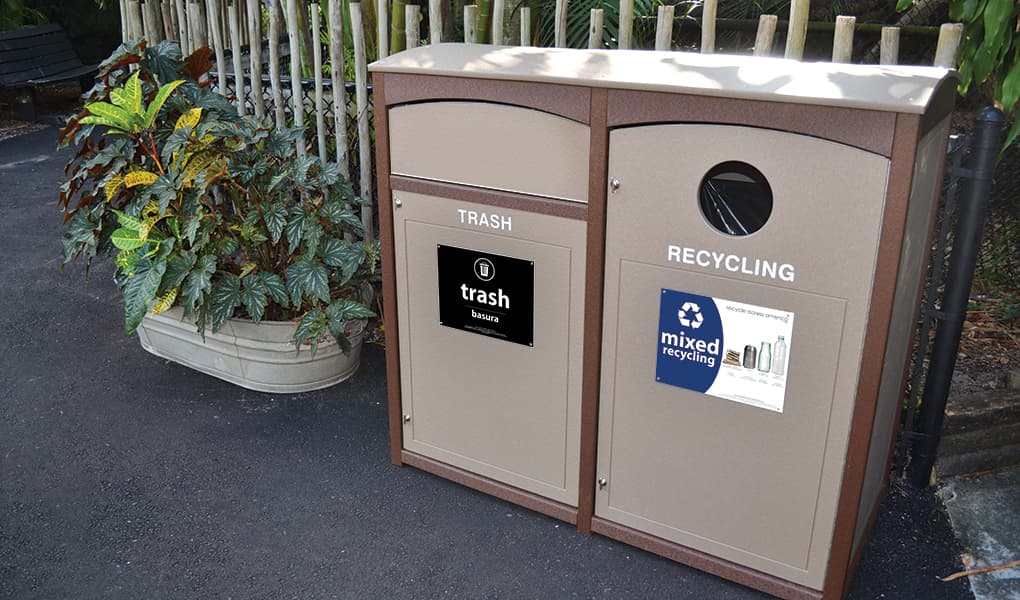 EasyCare Double Recycling Bin