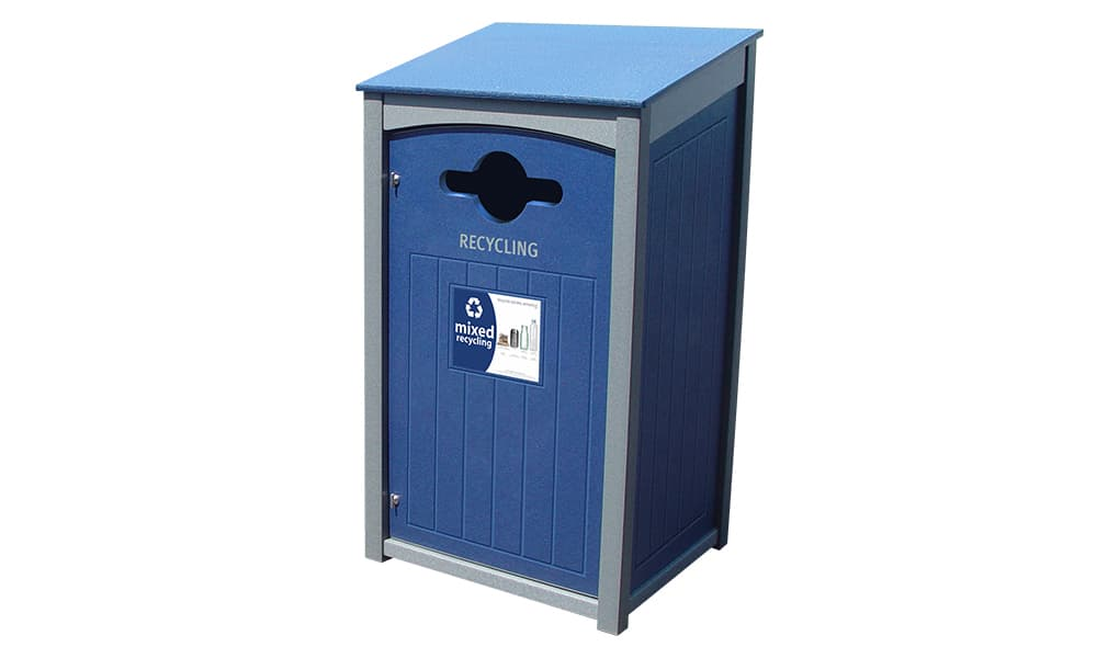 EasyCare 55 Gallon Recycling Bin