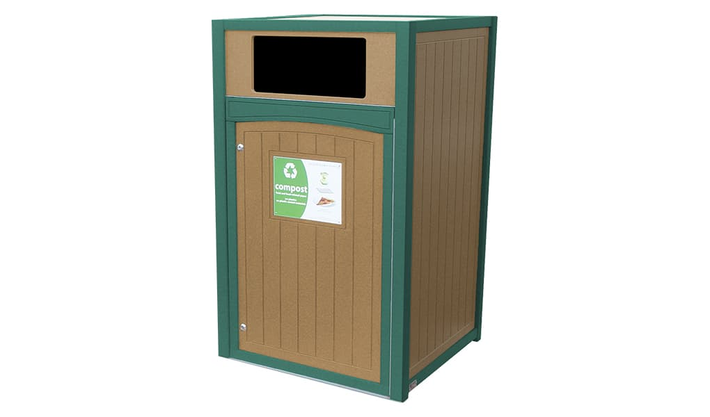 Recycling Station | EC64LX| Roll Cart