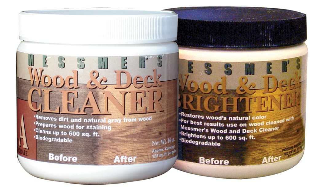 Messmer's Wood Brightener and Cleaner