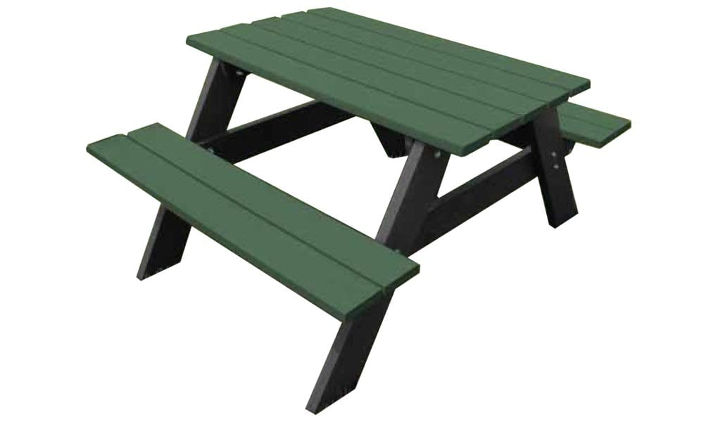 4-Ft Economy Picnic Table