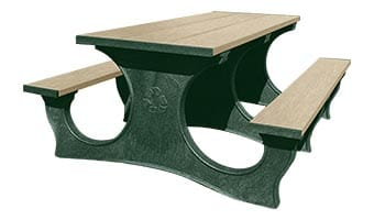 6-Foot Easy Access Picnic Table