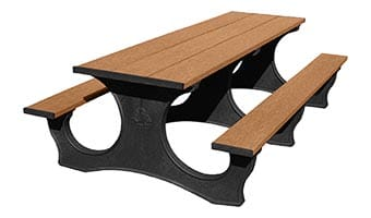 8-Foot Easy Access Picnic Table