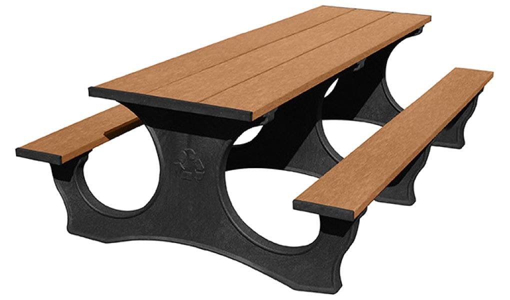 8-Ft Easy Access Picnic Table