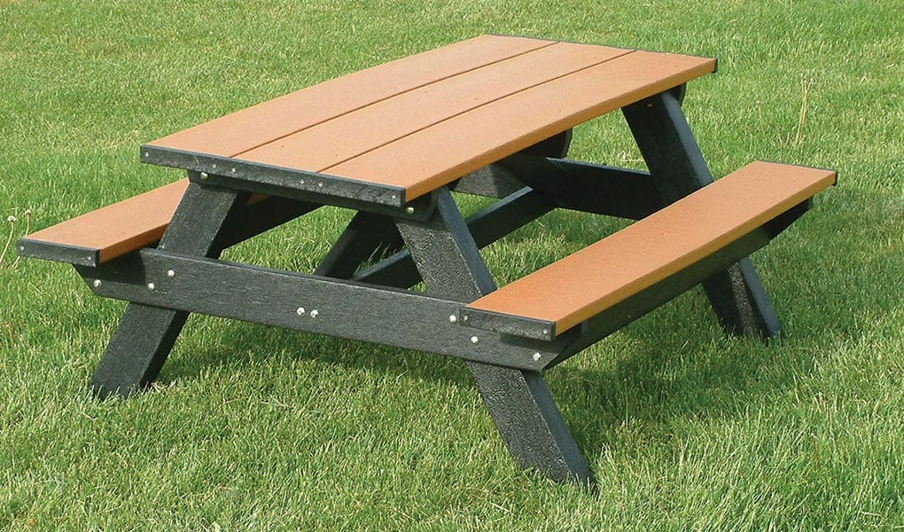 6-Ft Standard Picnic Table