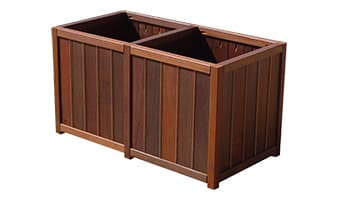 Rinowood Spruce Double Planter Box