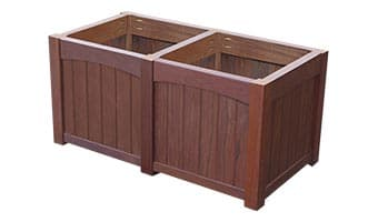 Rinowood Emerald Double Planter Box