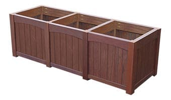 Rinowood Emerald Triple Planter Box