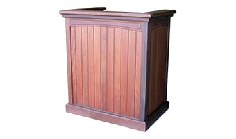 Rinowood Emerald Pedestal Top Welcoming Podium