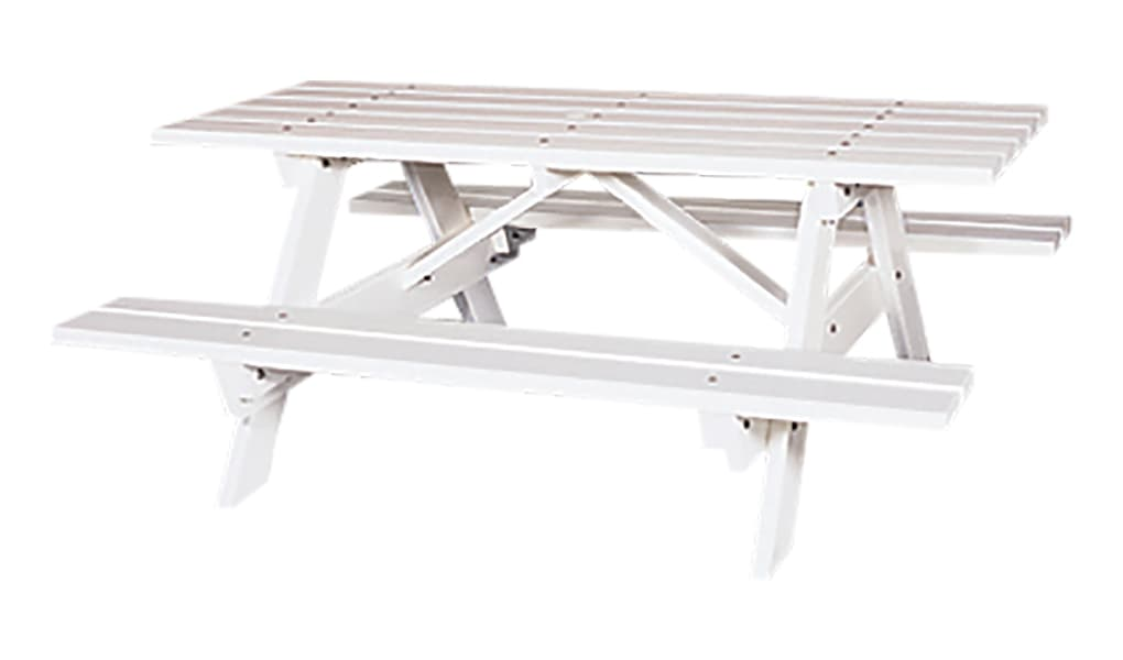 6-Ft Casual Picnic Table