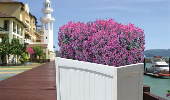 custom add-on options for Planter Boxes