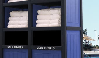 Towel Stations