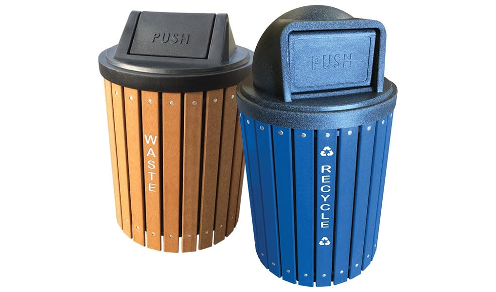EasyCare Round Recycling Bins